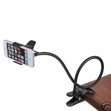 Universal Flexible Long Arms Lazy Bed Desktop Mobile Phone Holder Stand.