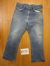 vintage lee denim  jean tag 36x30 talon zipper V5040