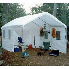 King Canopy 10 x 20 ft. Universal Canopy 10u0027 x 20u0027 / White & King Canopy Tent Explorer Mosquito Enclosed Bug Screen Room 10 X ...