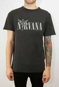 Nirvana T-shirt In Utero Logo Size Xl Official Merchandise Dernier Style