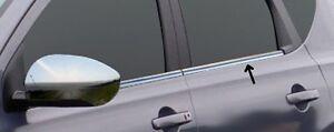 Acero inoxidable las barras de la ventana cromo para nissan qashqai j10   2007-2013   4tlg set