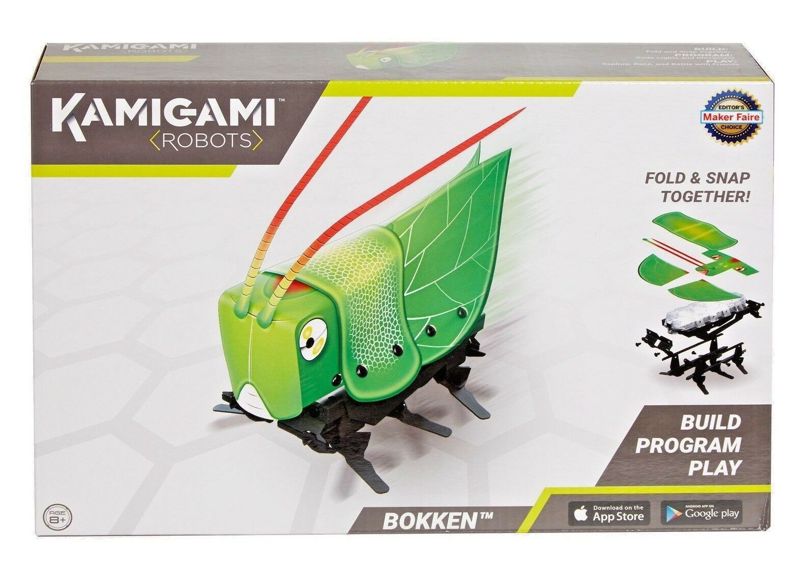 Mattel Kamigami Musubi Robot - Build Program Play - Fold & Snap -  2