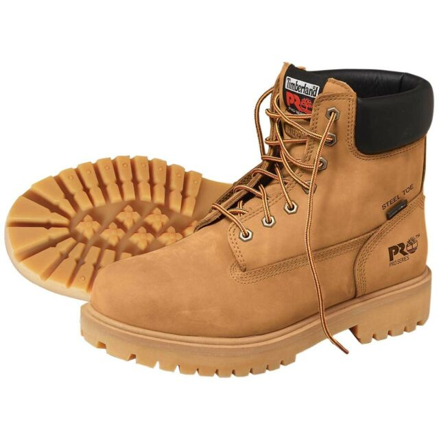Timberland Pro Wedge Sole 6 Inch Soft Toe Boot 53009