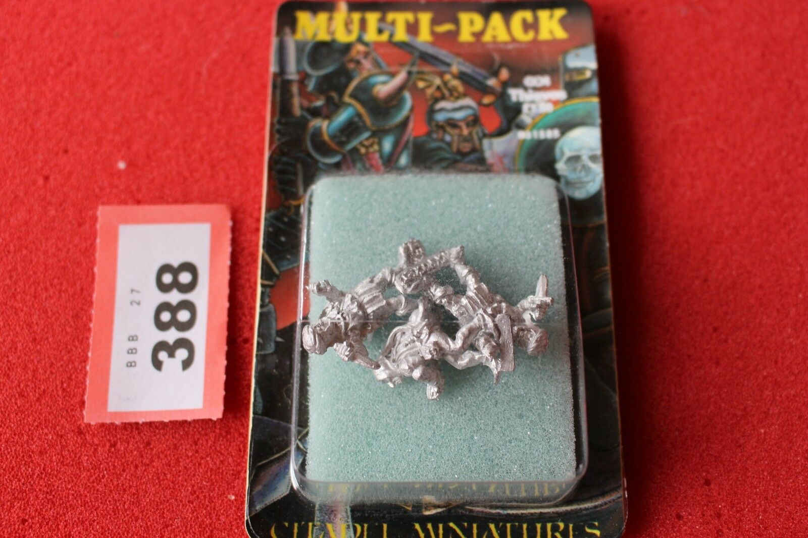 Citadel C04 Thief Thieves Games Workshop Metal Figures Warhammer New Blister A2
