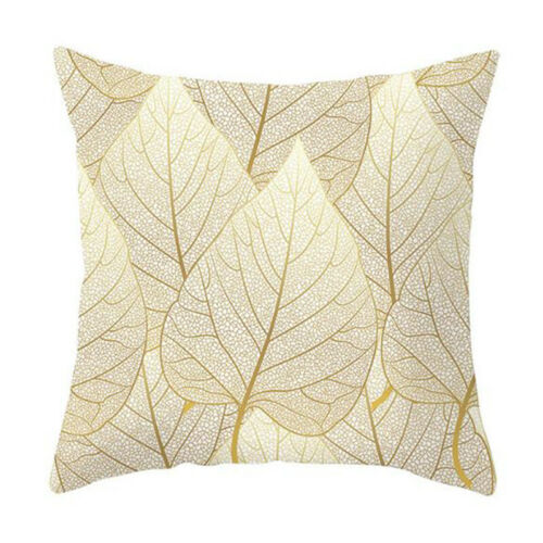 Floral Geometric Animal Leave Print Cushion Cover Soft Cozy Square Pillow Case a
