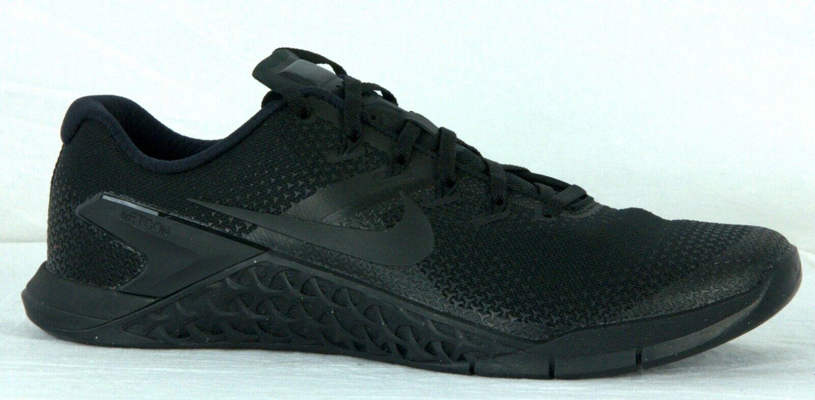 Nike Mens Metcon 4 Gym Cross Training scarpe AH7453 001 nero Hpr Crimson Sz 12