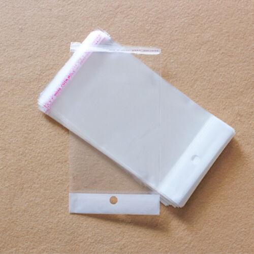 15cmX8cm Hangsell Cellophane Cello Clear Plastic Self Seal Bags Resealable