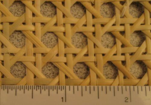 """- Natural Caning: Pre-woven Furniture Cane Web 18/"""" Width BTF"""