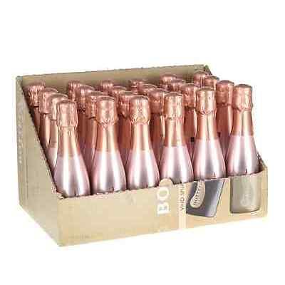 Bottega Sparkling Wine Rose Gold 20cl Case of 24 (24 x 20cl) - FREE P&P