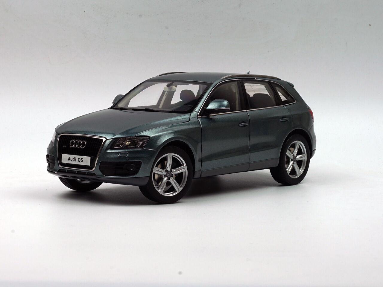 Audi q5 2012 ouarz kyosho 1,18 grauen druckguss metall - modell 09241gr