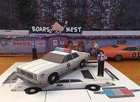Papercraft Dukes Of Hazzard Rosco's 1978 Dodge Monaco Ezu-build Papertoymodelcar