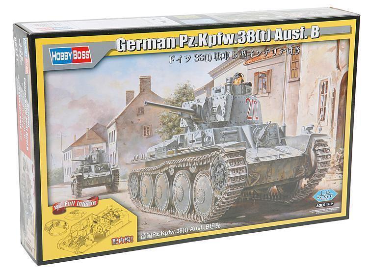 Panzerkampfwagen Kpfw 38(t) Ausf. B German German German Pz.Kpfw.38(t) Hobby Boss 80141 Modell 5ab676