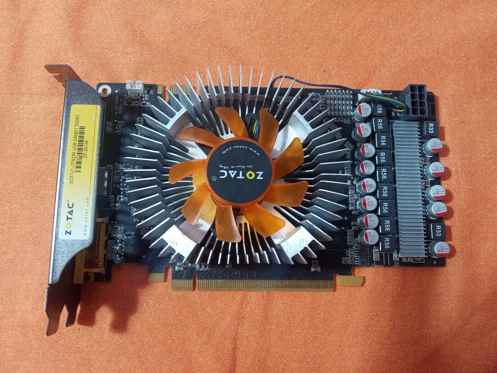 ZOTAC GTS 250 GDDR 3 1gb PCI