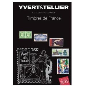 Yvert & Tellier Catalogue des Timbres de France - Tome 1, Edition 2019