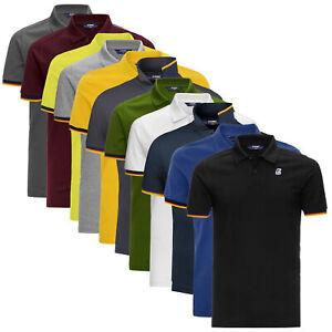 Polo-K-Way-Vincent-Contrast-Slim-Fit-maglia-manica-corta-uomo-K008J50