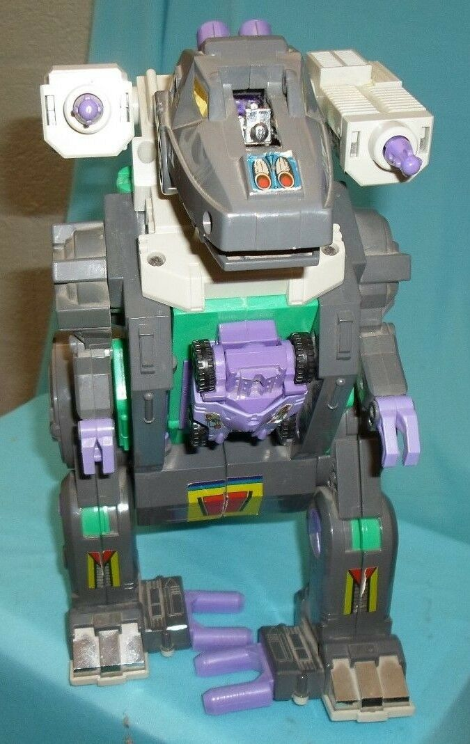 Transformers G1 1986 Hasbro Takara Trypticon T-Rex Electronic Dinosaur  WORKS