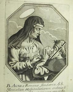 Sainte Agnès De Rome Michiel Van Lochom Xviie à La Duchesse D'aiguillon 1639 ArôMe Parfumé