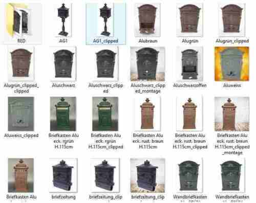 Buzón Hierro Rust Braun Post Decoración Pared Regalo Vintage Casa /& Patio Sólido