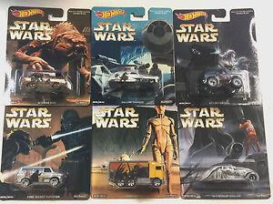 1985 Astro Van Han Solo 2015 HOT WHEELS POP CULTURE case E STAR WARS B18