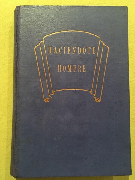 """""""haciendote Hombre"""" - Libro En Español, Castellano - Dr. Harold Shryock - Buch"""