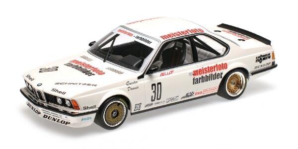 BMW 635 CSI boulette ETERNA  Bellof Danner ETCC 1983 1 18 MODEL MINICHAMPS  votre satisfaction est notre cible