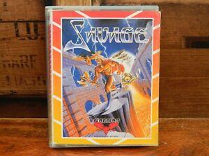 Savage-Amstrad-Cassette-Tape-Game-CPC-464-6128-664-Firebird