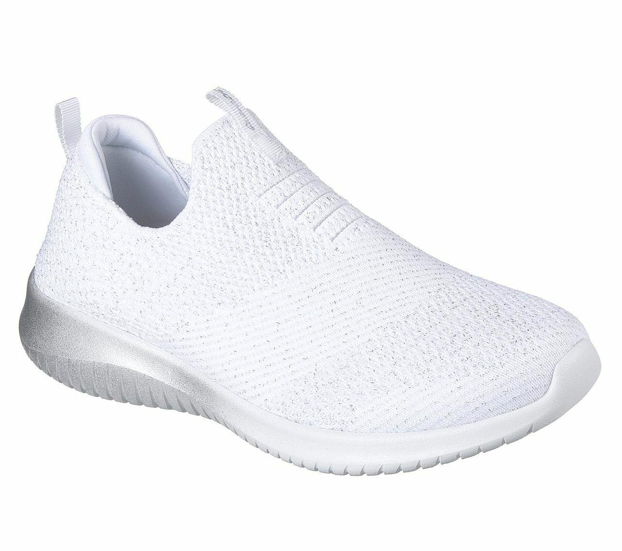 Skechers Sport damen ULTRA FLEX METAMORPHIC Turnschuhe Damen Schuhe Weiß