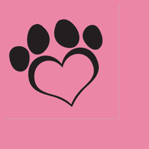 PUPPY PAWS Dog Love Pink Lunch Napkin Birthday Party Supplies free shipping