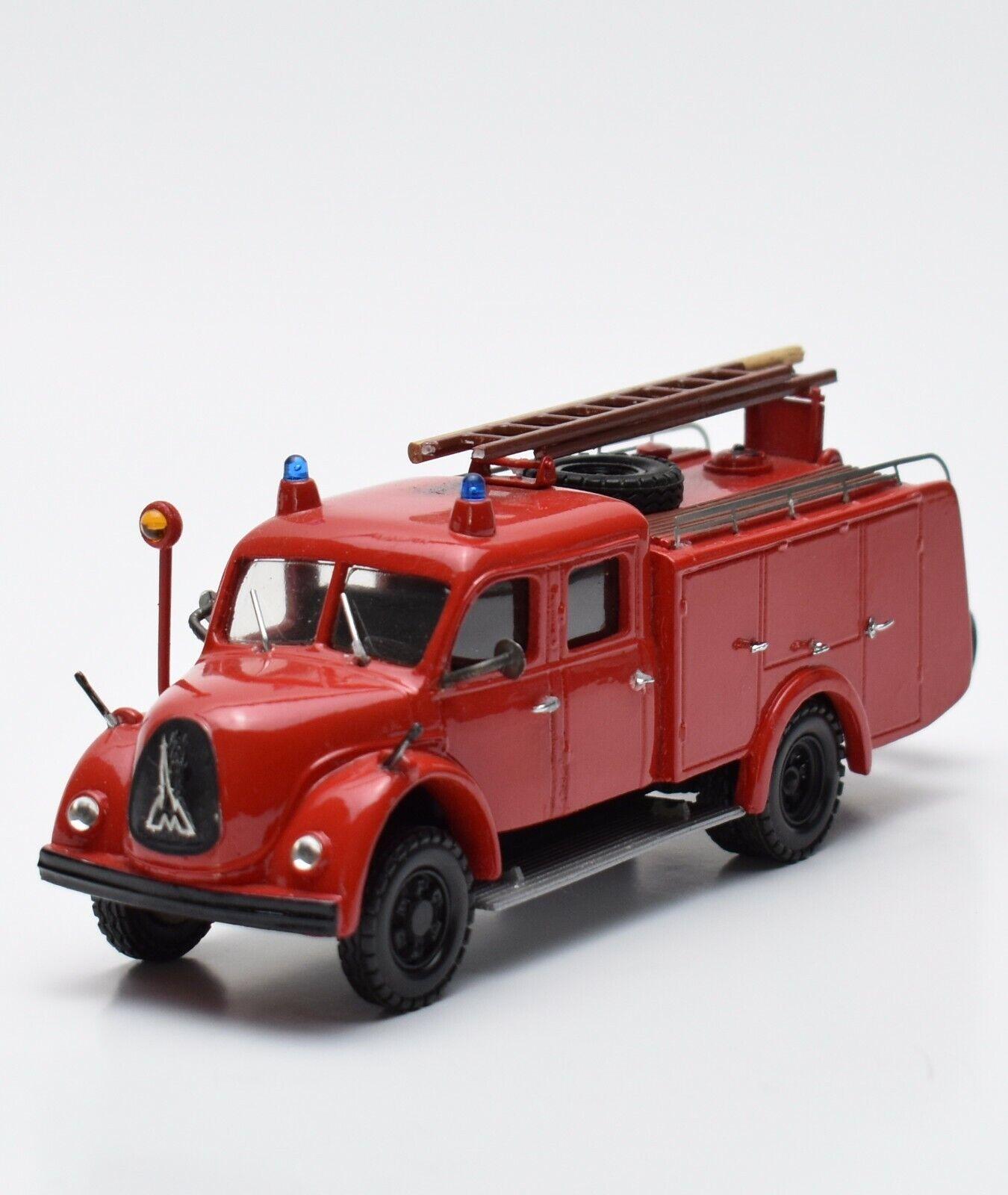 edición limitada en caliente Danhauser Magirus Deutz camiones bomberos desfile desfile desfile n.26 mano modelo de trabajo, 1 43, v004  Los mejores precios y los estilos más frescos.