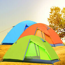 Gazelle 2 Person Camping Hiking Double-wall Backpack Dome Tent w/ Rainfly 3Color