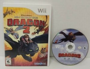 How to Train Your Dragon 2 - Nintendo Wii Wii U Game Working  Tested