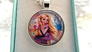 *PRINCESS RAPUNZEL TANGLE  NECKLACE 18 INCH 4 TO 6 YEARS GIFT BOX,BIRTHDAY PARTY