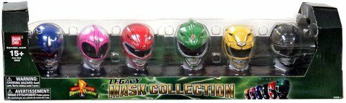 Power rangers exclusive 20th anniversary mighty morphin legacy mask collection   vente directe d'usine