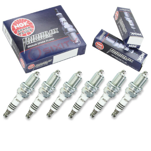 6 pcs NGK Iridium IX Plug Spark Plugs 99-04 Mitsubishi Montero Sport 3.5L V6 le