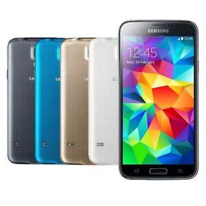 samsung galaxy s5 schwarz wei gold blau g900f android. Black Bedroom Furniture Sets. Home Design Ideas