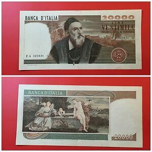 RAR-20-000-Livres-Tiziano-21-02-1975-Repubblica-Italiana-Avis-D-Expert