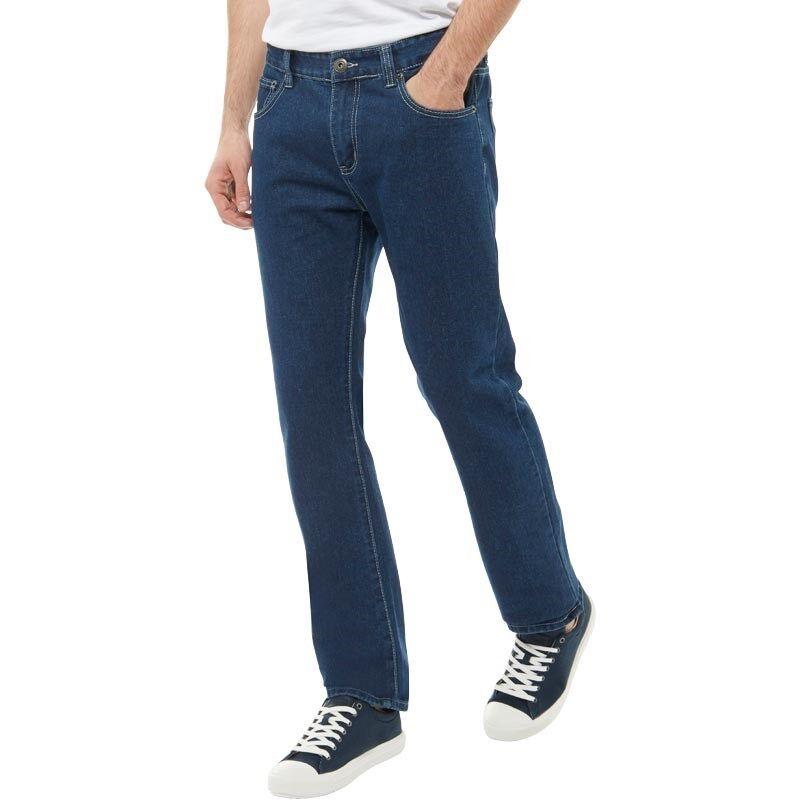 Kangaroo Poo- mens dark navy jeans -straight -Size 32x32