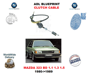 Para mazda 323 bd 11 13 15 80 89 adl blueprint cable de embrague la imagen se est cargando para mazda 323 bd 1 1 1 3 malvernweather Images