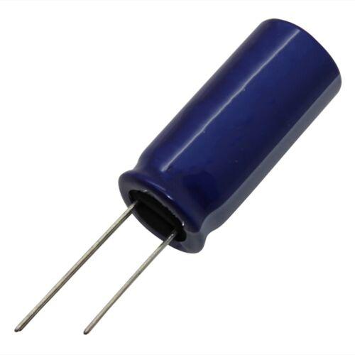 40x SD1V107M6L011BB Kondensator elektrolytisch THT 100uF 35VDC Ø6,3x11mm SAMWHA