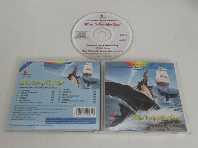 All the Brothers Were Valiant/Soundtracks/Miklos Rozsa ( Pcd 131) CD Album