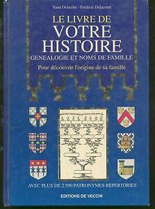 Le-Livre-De-Votre-Histoire-Genealogie-Et-Noms-De-Famille