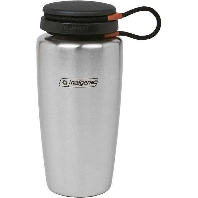 Nalgene 32 oz. Stainless Steel Backpacker Bottle - Silver