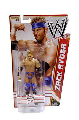 Mattel WWE Basic Series 22 Zack Ryder #60 Wrestling Action Figure