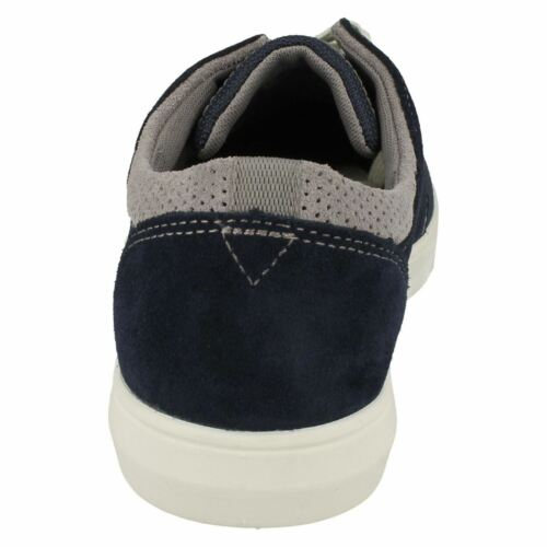 Clarks Navy Edge Landry Mens Casual Suede Shoes Fitting Up blu Combi Lace G SwAqURxwB