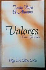 Valores para Jovenes de Olga Iris Rios Ortiz  Barranquitas Puerto Rico
