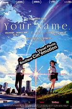 Affiche Pliée 120x160cm YOUR NAME /KIMI NO NA WA 2016 Makoto Shinkai animation
