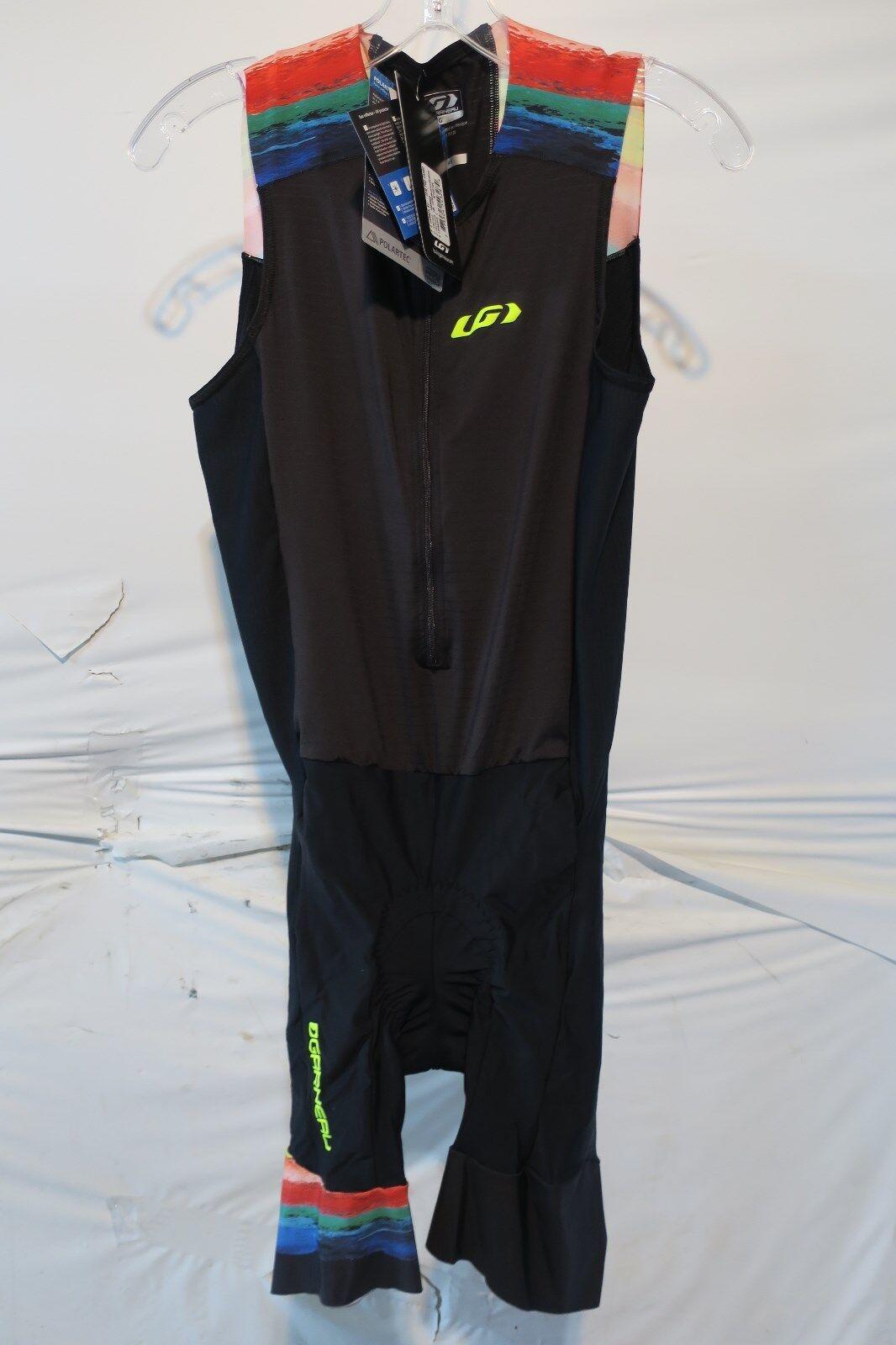 Louis Garneau Pro Carbon Triathlon Suit Men's Medium Expressionist Retail  145
