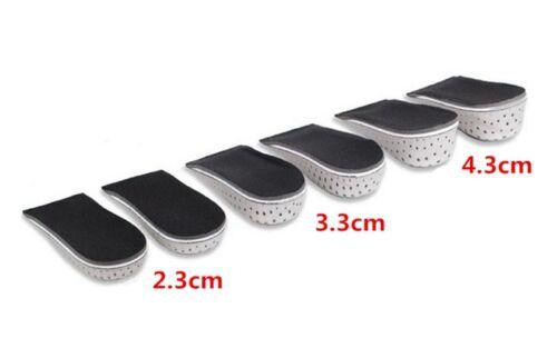 Men Women Breath Shoe Insole Air Cushion Heel insert Increase Taller Height Lift
