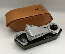 Vintage Canon V Camera Rangefinder Flash Unit & Leather Case