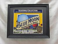 BLUE MOON SUMMER HONEY WHEAT  BEER SIGN  #976